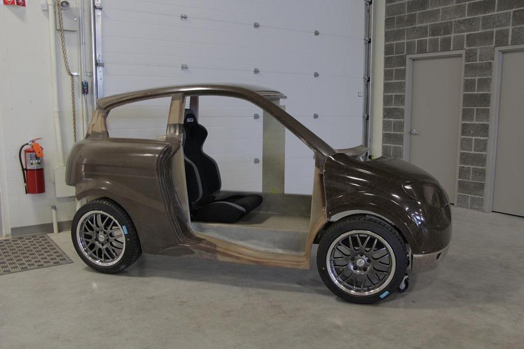 hemp car, автомобиль из конопли,