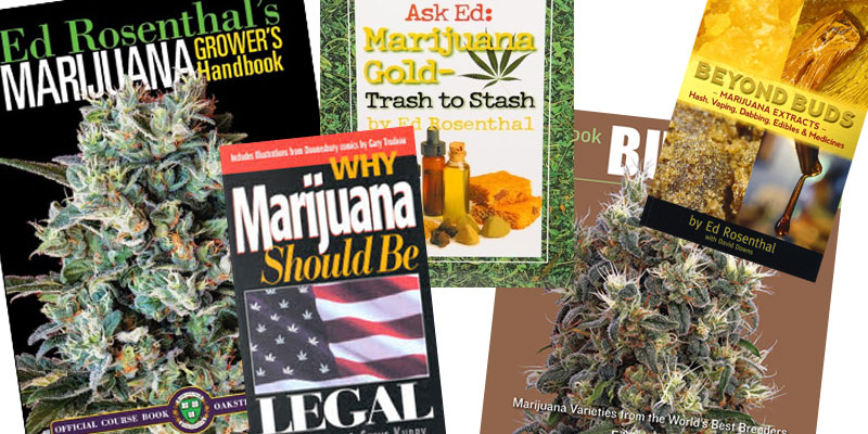 cannabis, books, weed, mj, ed rosenthal,
