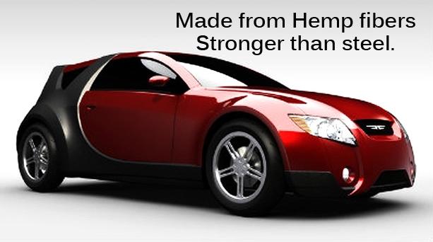 В Канаде сконструировали автомобиль из конопли