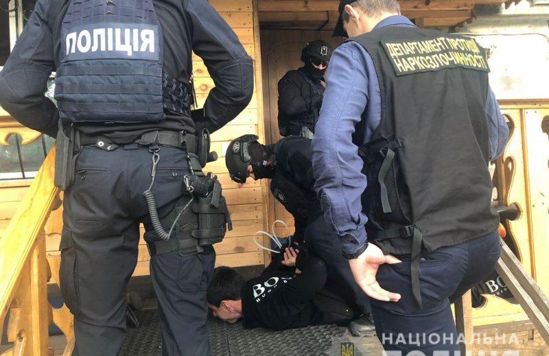 В Киевской области полиция изъяла марихуаны на 8 млн гривен