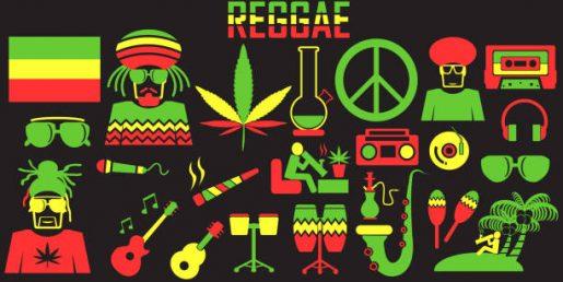 Reggae symbols