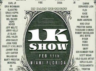 1K Show: крупная ежегодная конвенция в Майами девайсов для курения марихуаны